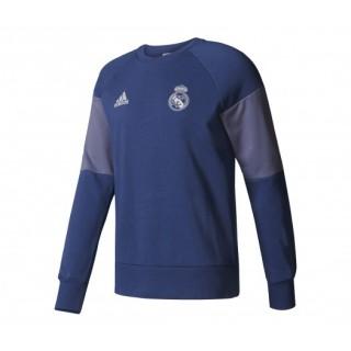 Sweat-shirt adidas Real Madrid Bleu