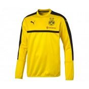 Sweat-shirt entraînement Puma Borussia Dortmund Jaune Enfant