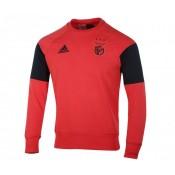 Sweat-shirt entraînement adidas Benfica Rouge