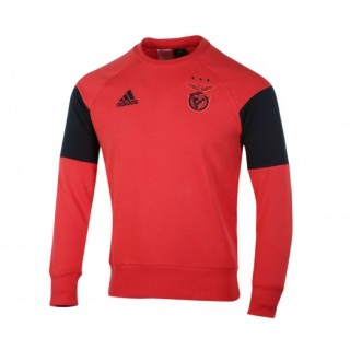 Sweat-shirt entraînement adidas Benfica Rouge