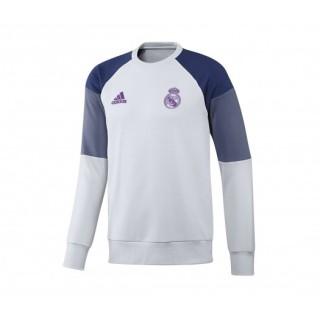Sweat-shirt entraînement adidas Real Madrid Blanc