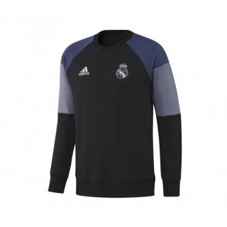 Sweat-shirt entraînement adidas Real Madrid Noir