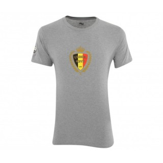 T-Shirt Blason Belgique Gris