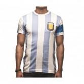 T-Shirt COPA Argentine Capitano 10 bleu et Blanc