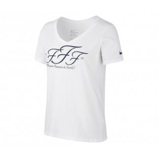 T-Shirt Core FFF Blanc Femme