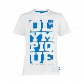T-Shirt Olympique de Marseille Blanc