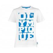 T-Shirt Olympique de Marseille Blanc Enfant