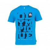 T-Shirt Olympique de Marseille Bleu