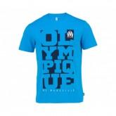 T-Shirt Olympique de Marseille Bleu Enfant