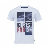 T-Shirt Paris Saint-Germain Ici c'est Paris Blanc