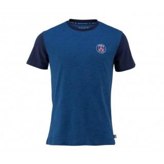 T-Shirt Paris Saint-Germain Logo Bleu Enfant