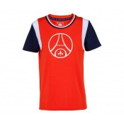 T-Shirt Paris Saint Germain Retro Rouge Femme