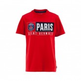 T-Shirt Paris-Saint-Germain Rouge Enfant