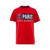 T-Shirt Paris-Saint-Germain Rouge Enfant