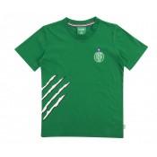 T-shirt AS St-Etienne Griffe Vert Enfant