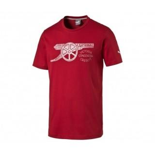 T-shirt Arsenal Puma Graphic Canon Rouge