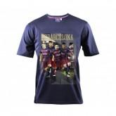 T-shirt Barcelone Bleu