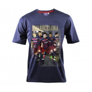T-shirt Barcelone Bleu Enfant