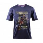 T-shirt Barcelone Messi Bleu