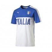 T-shirt Fan Italie Blanc/Bleu