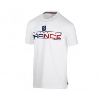 T-shirt France FFF Fan Blanc