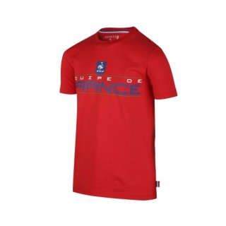 T-shirt France FFF Fan Rouge Enfant