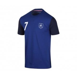 T-shirt France FFF Griezmann Bleu