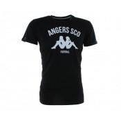 T-shirt Kappa du SCO Angers Noir