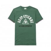 T-shirt Le Coq Sportif AS Saint-Etienne Fan Vert