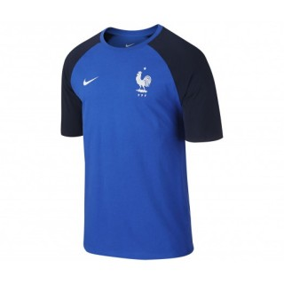 T-shirt Match France Football Bleu