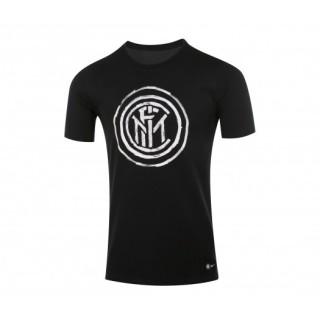 T-shirt Nike Crest Inter Milan Noir