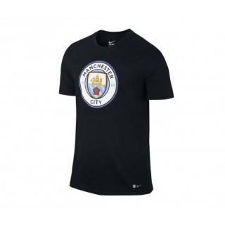 T-shirt Nike Crest Manchester City Noir