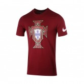 T-shirt Nike Crest Portugal Rouge