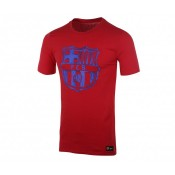 T-shirt Nike FC Barcelone Crest Rouge