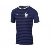 T-shirt Nike France FFF Hyperlocal Bleu