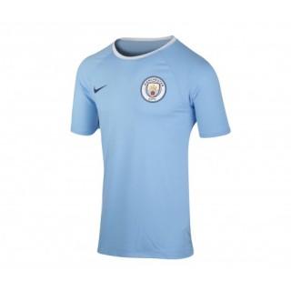 T-shirt Nike Manchester City Bleu
