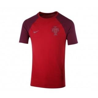T-shirt Nike Match Portugal Rouge