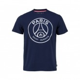 T-shirt Paris Saint-Germain Big Logo Bleu Enfant