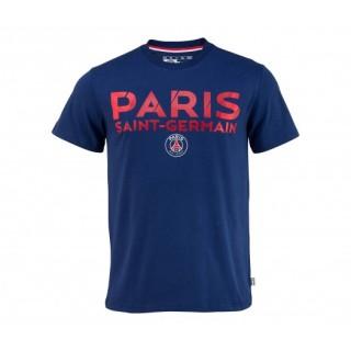 T-shirt Paris Saint-Germain Club Bleu