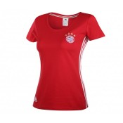 T-shirt adidas Bayern Munich Rouge Femme