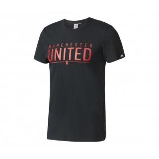 T-shirt adidas Manchester United Noir