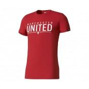 T-shirt adidas Manchester United Rouge