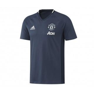 T-shirt entraînement adidas Manchester United Bleu