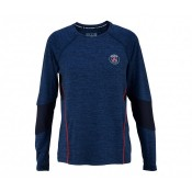 Top Running Manches Longues Paris Saint-Germain Bleu Femme