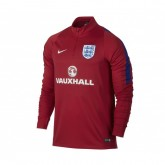 Training Top Angleterre Drill Rouge
