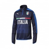 Training Top Italie Bleu Marine