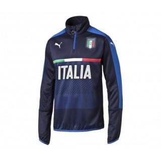Training Top Italie Bleu Marine Enfant
