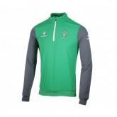 Training Top Le Coq Sportif AS Saint-Étienne Vert et Gris