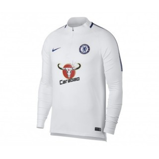 Training Top Nike Chelsea Squad Blanc