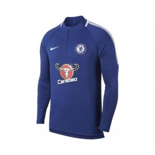 Training Top Nike Chelsea Squad Bleu